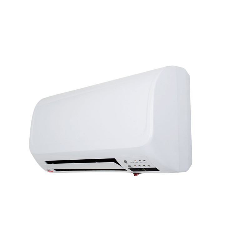 Wall ptc fan heater with remote control