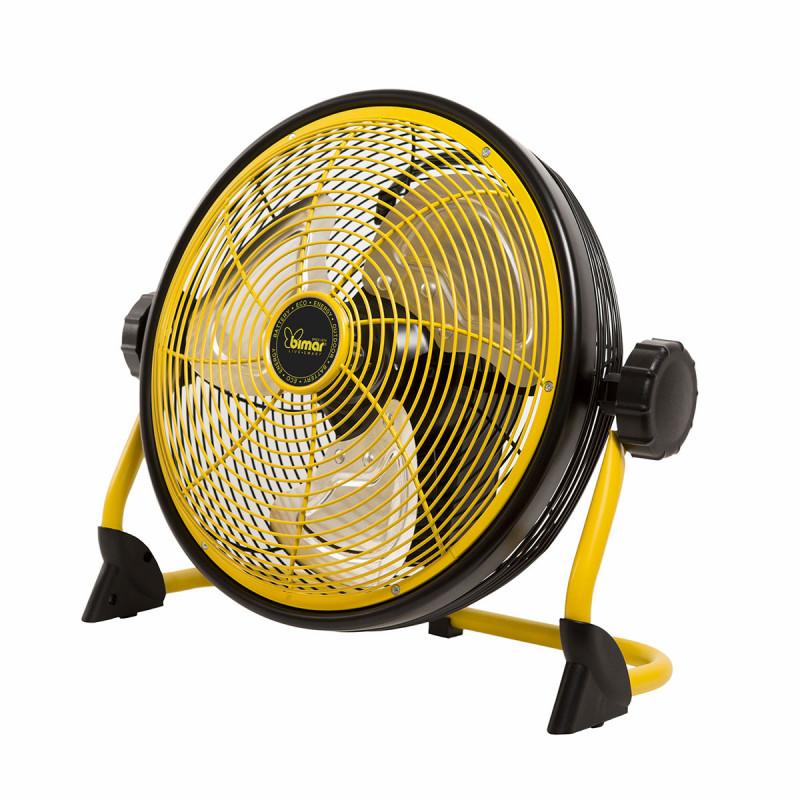 Ventilatore da pavimento a batteria ricaricabile 30cm...