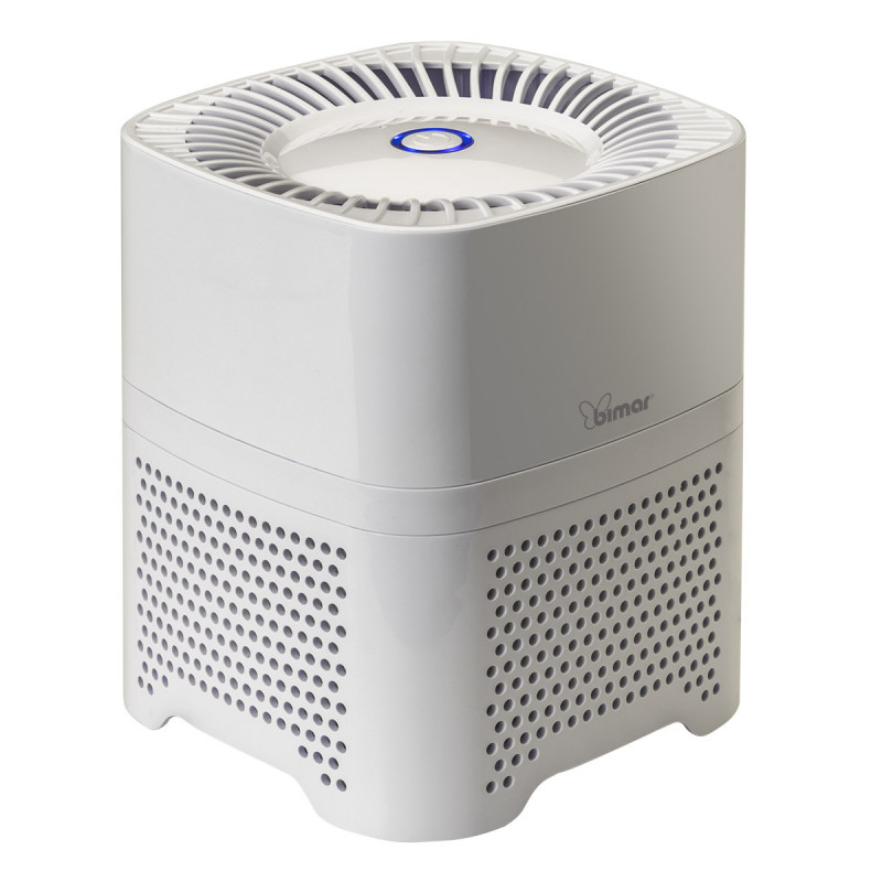 Air purifier with HEPA, activated carbon, and mesh...