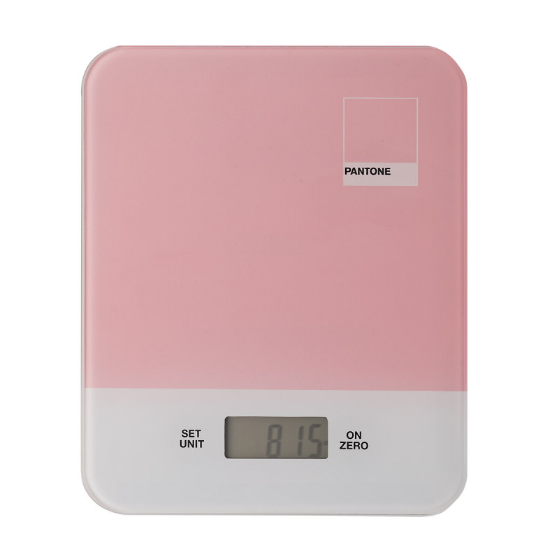 Multifunction electronic kitchen scale pantone