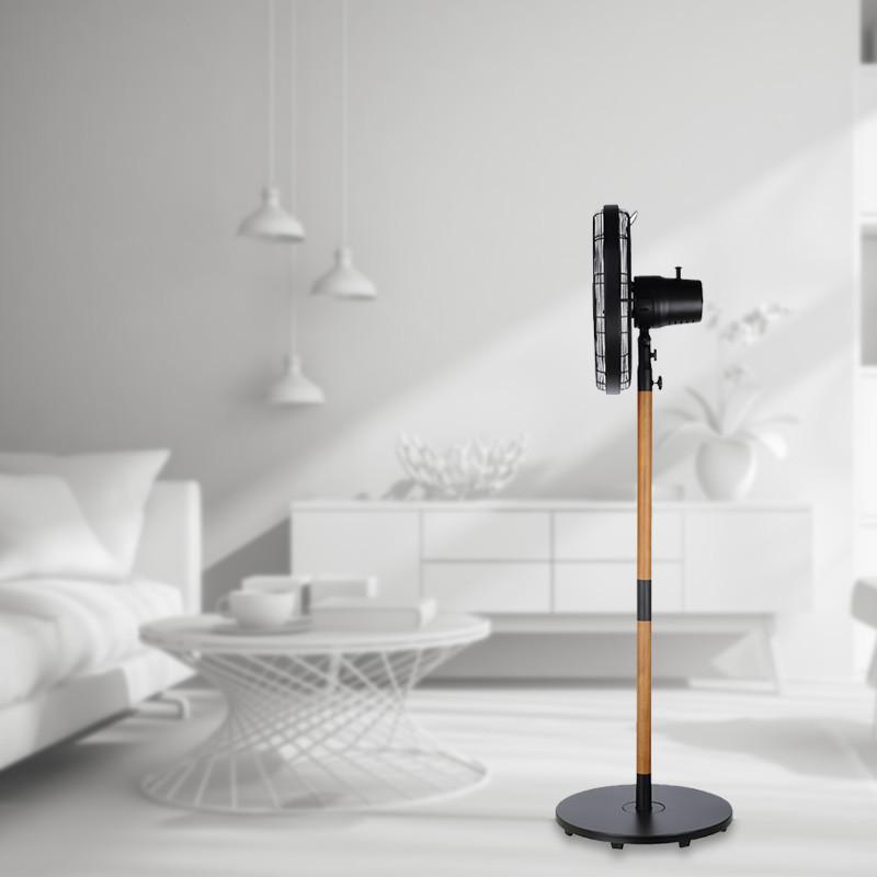 40cm Stand fan metal&wooden VPM410