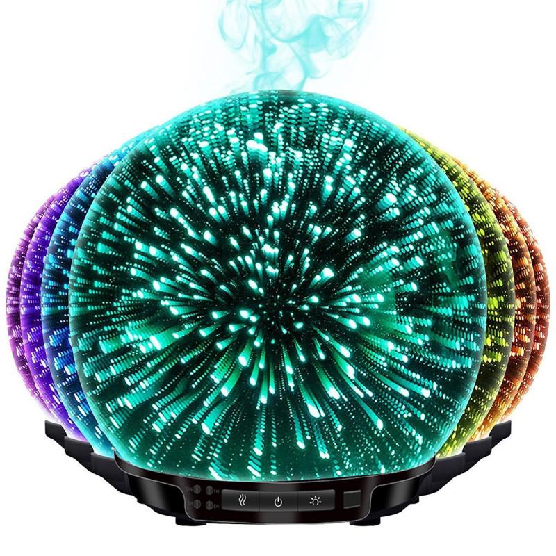 Aroma diffuser with chromatic lights da22